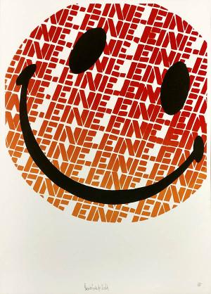 SMILEY (ORANGE) BY BEN EINE