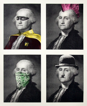 PRESIDENT'S DAY BY MR. BRAINWASH