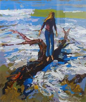 YELLOW PARASOL BY NICOLA SIMBARI