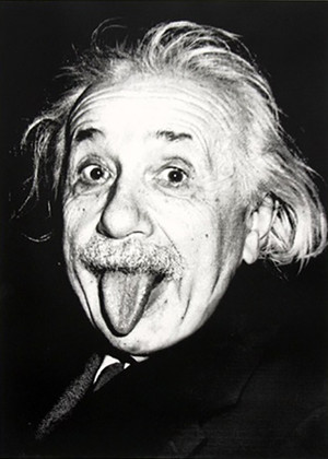 HAPPY BIRTHDAY EINSTEIN BY MR. BRAINWASH