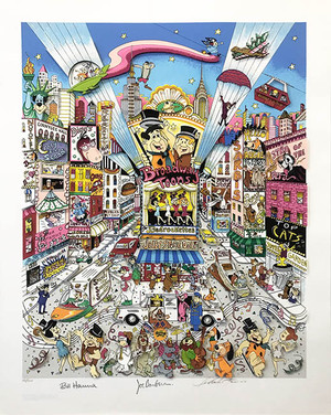 BROADWAY TOONS BY CHARLES FAZZINO