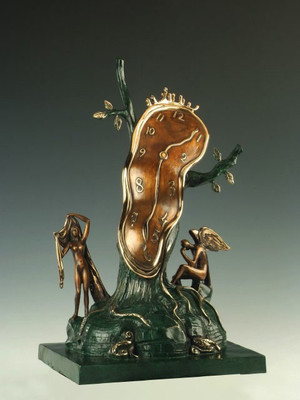NOBILITY OF TIME BY SALVADOR DALI