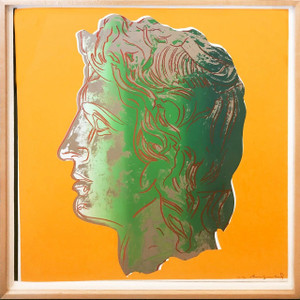 ALEXANDER THE GREAT FS II.291 (TRIAL PROOF) BY ANDY WARHOL