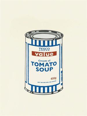 TESCO TOMATO SOUP CAN BY BANKSY