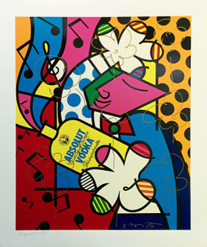 ABSOLUT BRITTO II BY ROMERO BRITTO