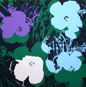 FLOWERS 11.64 BY ANDY WARHOL FOR SUNDAY B. MORNING