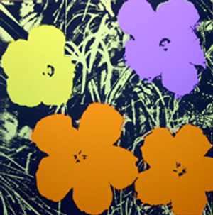 FLOWERS 11.67 BY ANDY WARHOL FOR SUNDAY B. MORNING