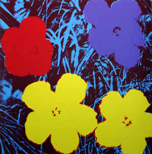 FLOWERS 11.71 BY ANDY WARHOL FOR SUNDAY B. MORNING