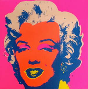 MARILYN MONROE 11.22 BY ANDY WARHOL FOR SUNDAY B. MORNING