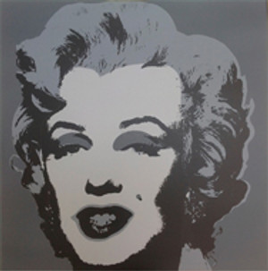 MARILYN MONROE 11.24 BY ANDY WARHOL FOR SUNDAY B. MORNING