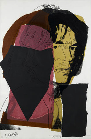 MICK JAGGER FS II.139 BY ANDY WARHOL