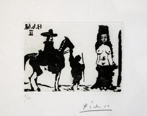 LA CELESTINE (BLOCH 1636) BY PABLO PICASSO