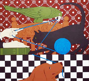 POLLY MINOU & EON BY WILL BARNET
