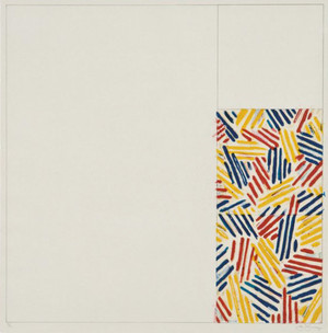 UNTITLED 1975 BY JASPER JOHNS