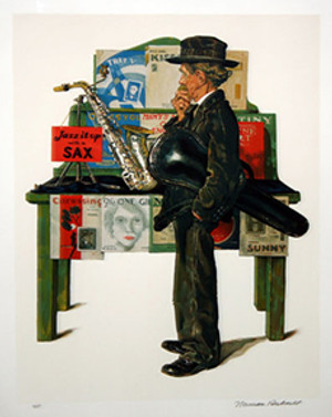 JAZZ IT UP BY NORMAN ROCKWELL