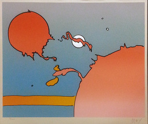 MOONSCAPE I BY PETER MAX