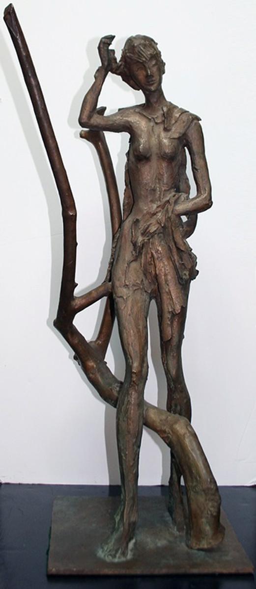 STANDING FEMALE NUDE BY NICOLA SIMBARI