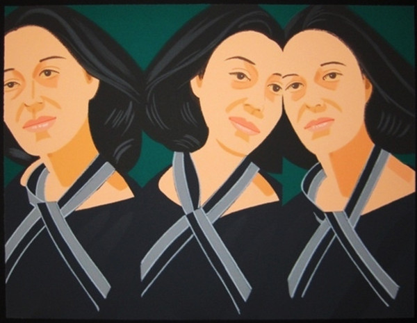 GREY RIBBON BY ALEX KATZ