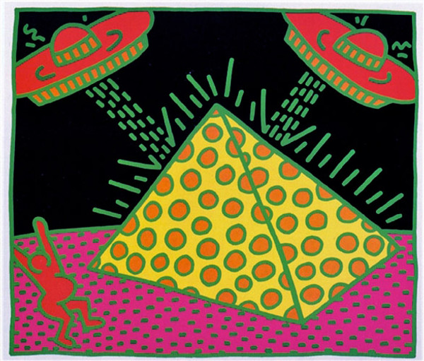 FERTILITY #2 (FROM FERTILITY SUITE) BY KEITH HARING
