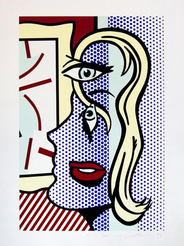 ART CRITIC BY ROY LICHTENSTEIN