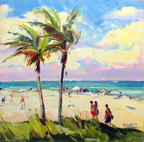 BEACH DAY BY IGOR KOROTASH