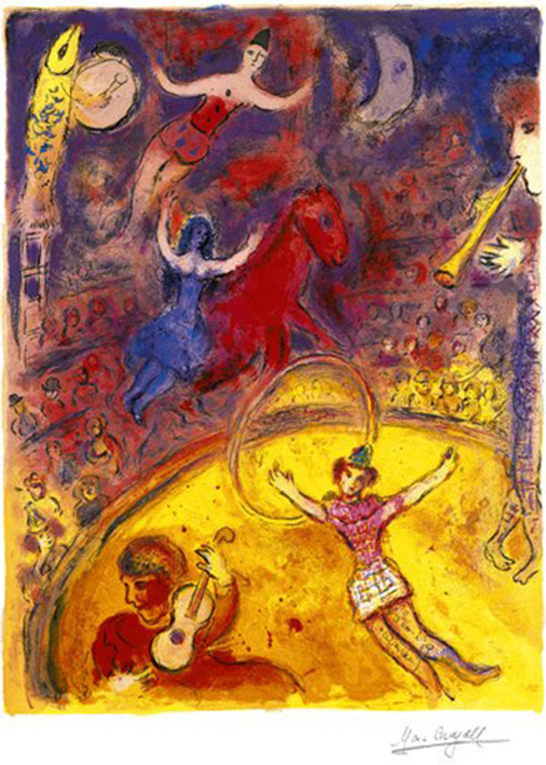 LE CIRQUE BY MARC CHAGALL