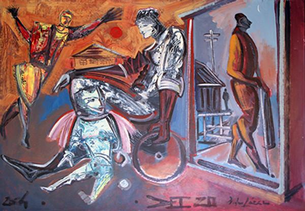 HOMMAGE TO DALI BY PEDRO LAZARO