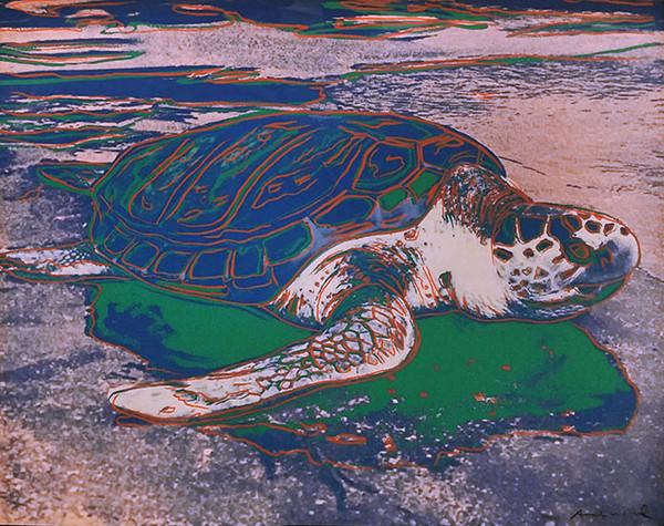 ENDANGERED SPECIES: TURTLE FS II.360 BY ANDY WARHOL