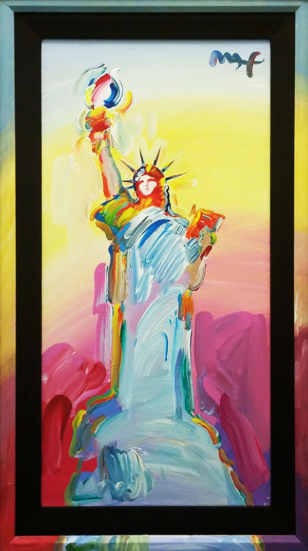 STATUE OF LIBERTY II BY PETER MAX