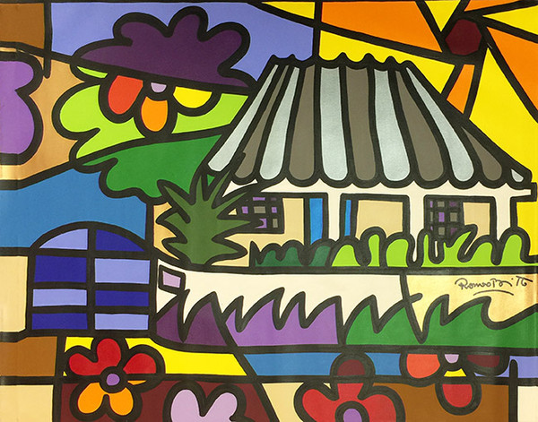 BACK IN TIME II BY ROMERO BRITTO