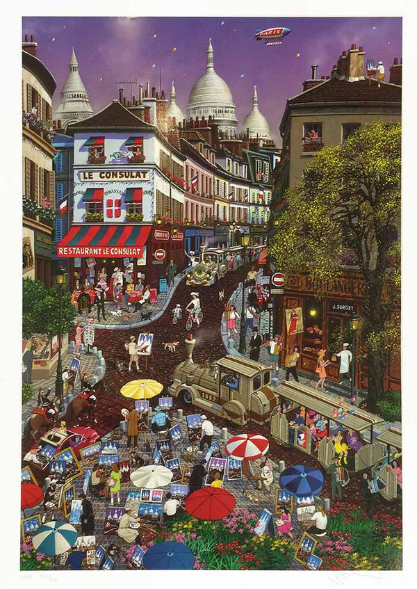 A DAY AT MONTMARTRE BY ALEXANDER CHEN