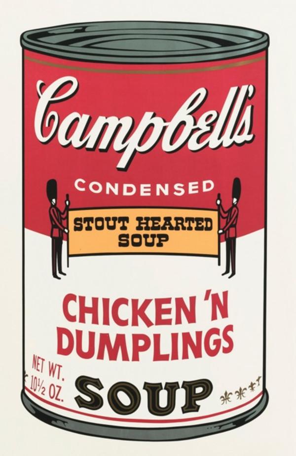 CAMPBELL'S SOUP II: CHICKEN 'N DUMPLING'S FS II.58 BY ANDY WARHOL
