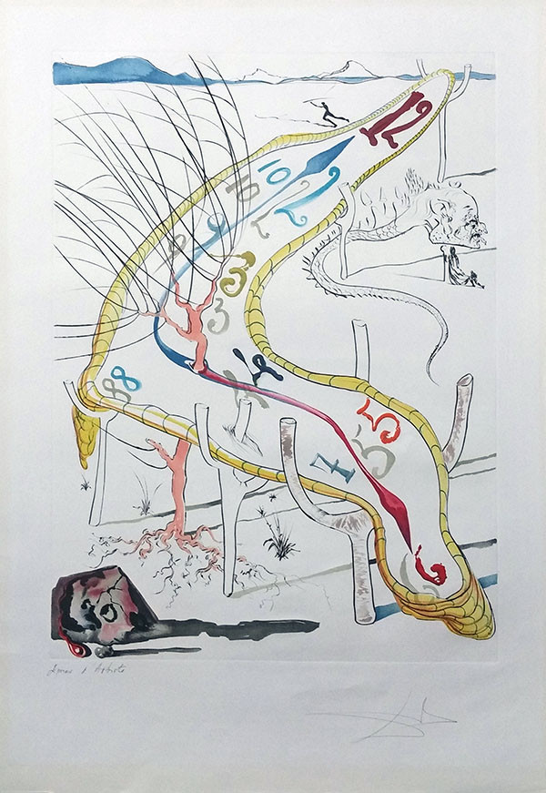 THE FROZEN WATCHES OF SPACE TIME BY SALVADOR DALI