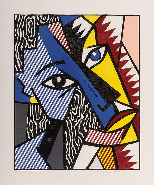 HEAD BY ROY LICHTENSTEIN