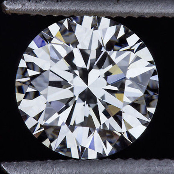 GIA Certified .50 Carat Round Diamond G Color VVS2 Clarity Excellent Investment