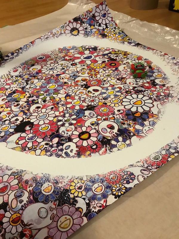 ENSO: ZEN THE HEAVEN BY TAKASHI MURAKAMI
