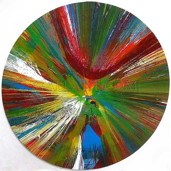 SPIN BY DAMIEN HIRST