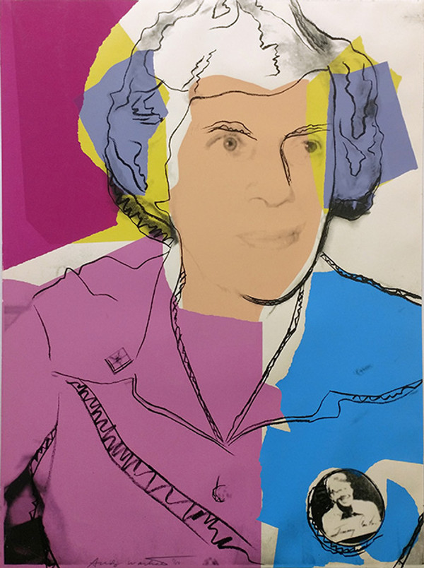 LILIAN CARTER FS II.153 BY ANDY WARHOL