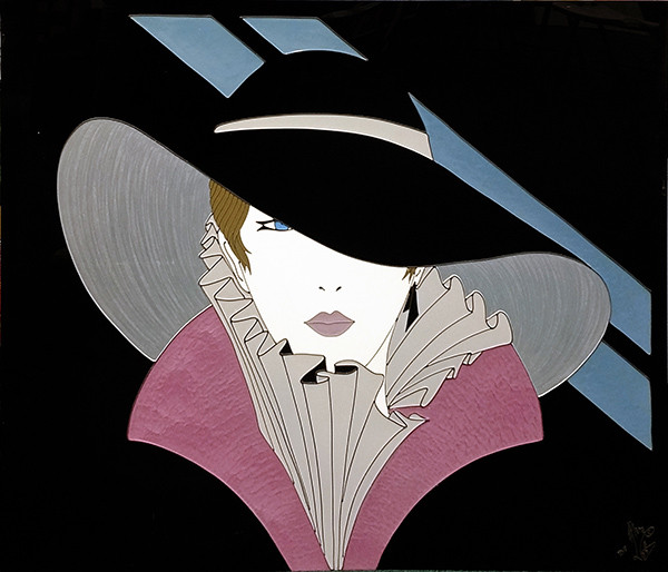 WOMAN WITH HAT BY MARA