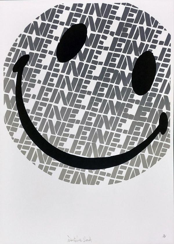 SMILEY (GREY) BY BEN EINE