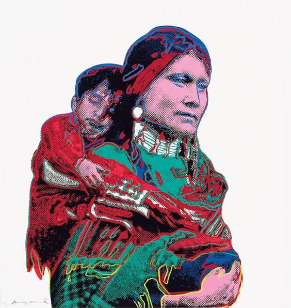 MOTHER AND CHILD  FS II.383 BY ANDY WARHOL