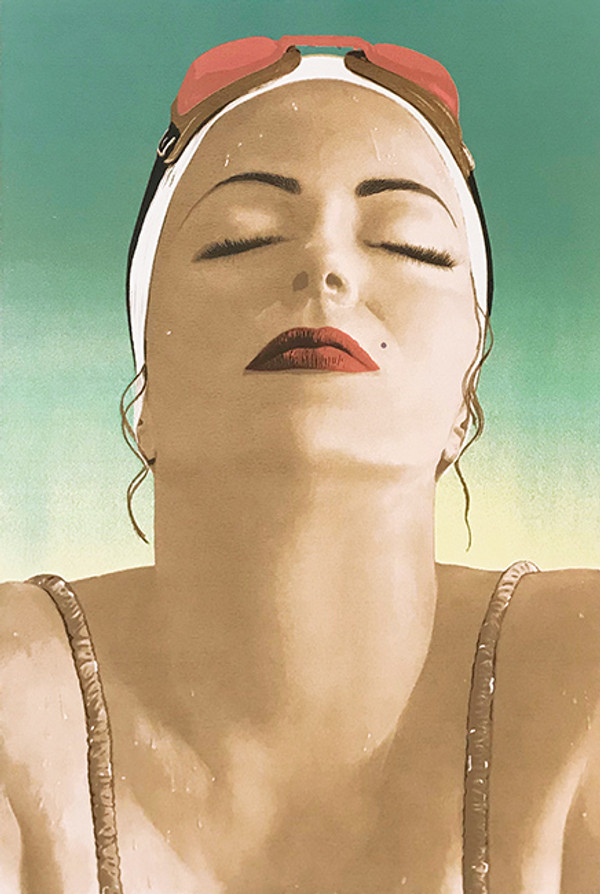 CATALINA (GREEN) BY CAROLE A. FEUERMAN