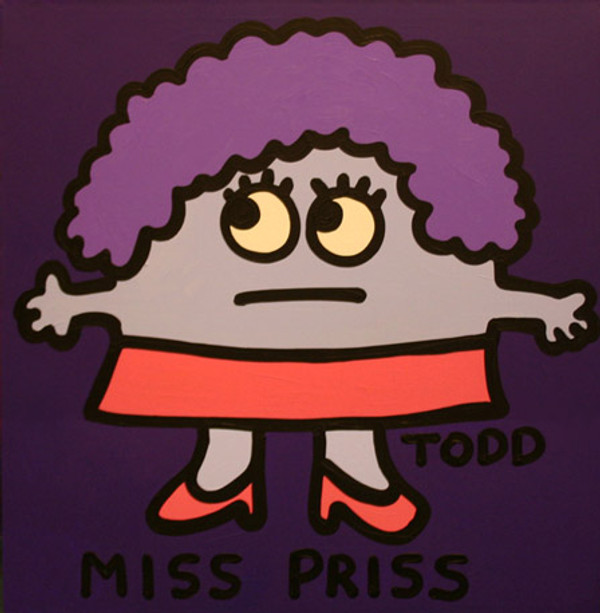 MISS PRISS BY TODD GOLDMAN