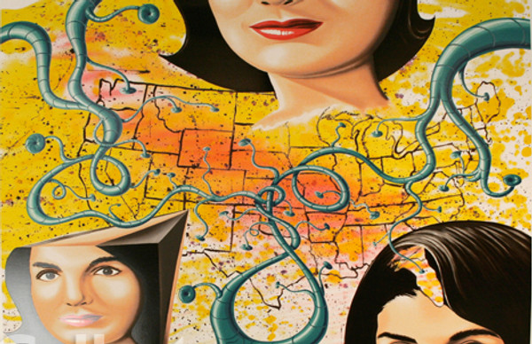 THE 3 FACES OF JACKIE THE AMERICAN BY KENNY SCHARF