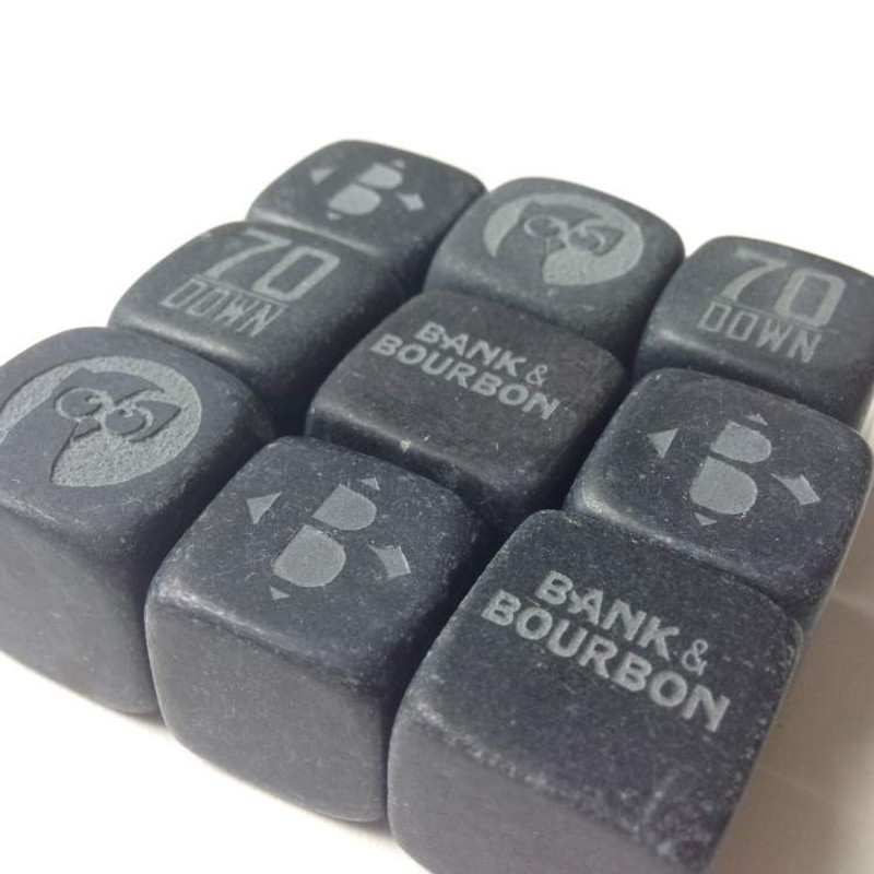 """3/4"""" Beverage Cubes for Whiskey and Bourbon"""