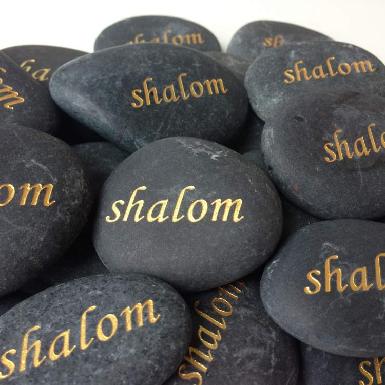 Shalom Peace Stones