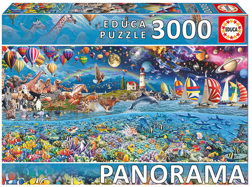 Panorama: Life, 3000 Pieces, Educa