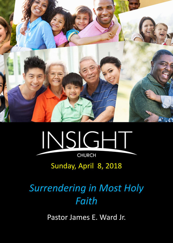 Surrendering in Most Holy Faith