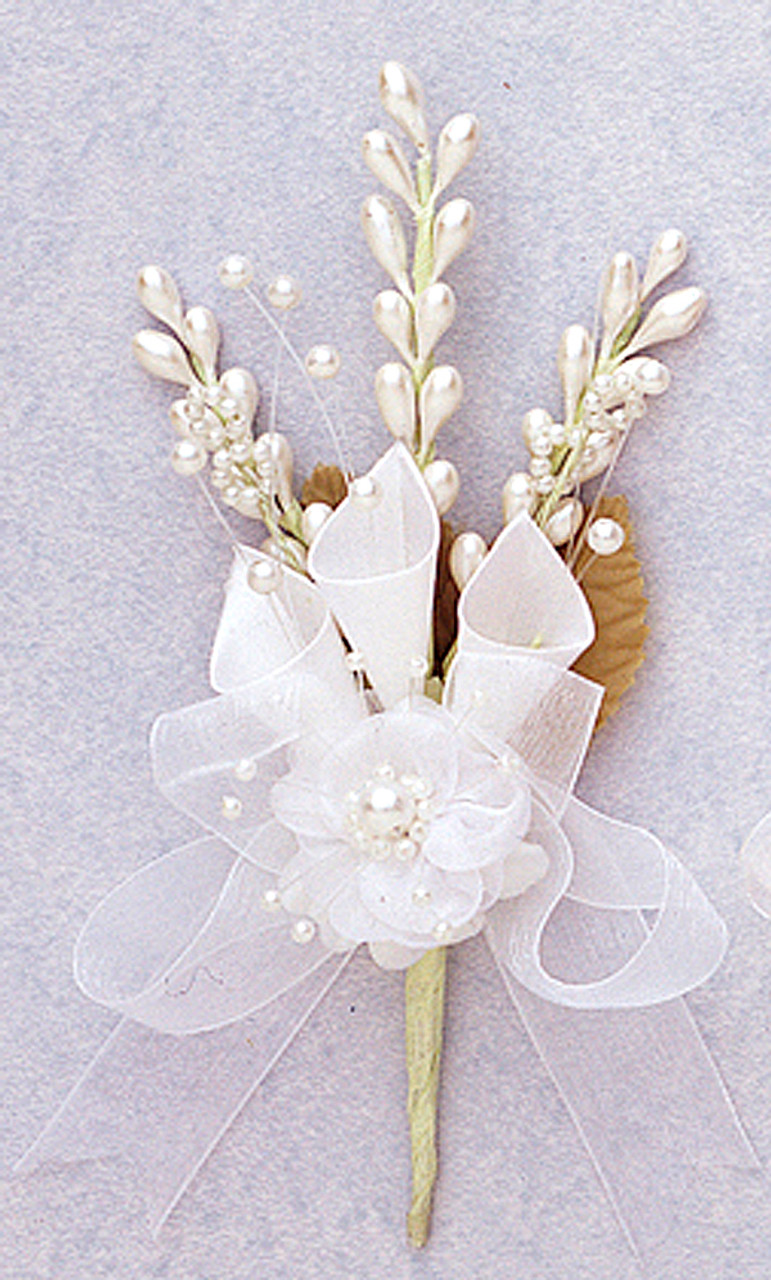 7 white silk calla lily corsage flowers pack of 12 cb flowers 7 white silk calla lily corsage flowers pack mightylinksfo