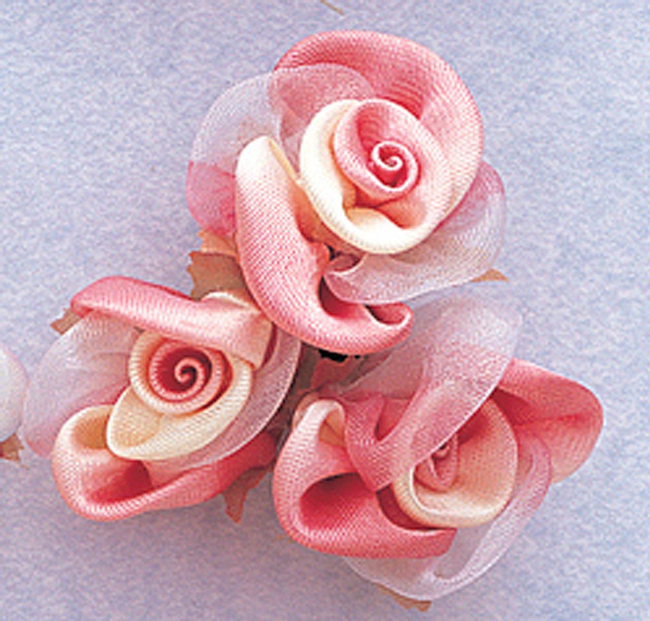 1 mauve satin silk flowers pack of 36 cb flowers crafts 1 mauve satin silk flowers pack mightylinksfo